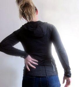 Pijn in linkerzij komt gewoon door de QL spier