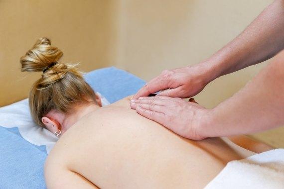 Massage schouder