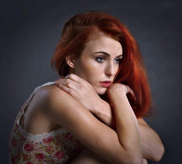 Meisje-rood-haar
